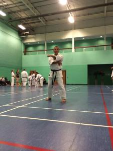 Image of Sean Roberts Sensei showing us how it's done.