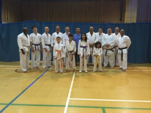 Image of Sean Roberts Sensei Seminar August 2015